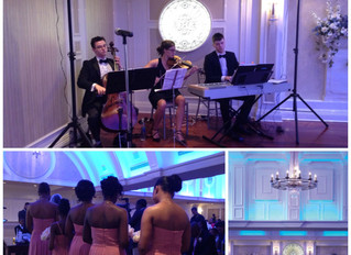 3 Reasons to Book Live Musicians for your Wedding Ceremony and Cocktail Hour