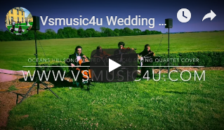 CHECK OUT OUR LATEST VIDEO:   VSMUSIC4U PROFESSIONAL WEDDING AND EVENT STRING QUARTET PERFORMING ON