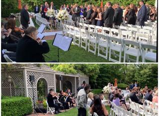 Vsmusic4u Pop Modern String Quartet performed on an amazing wedding at Crest Hollow Country Club: ch