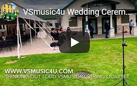 vsmusic4u wedding ceremony at the vineya
