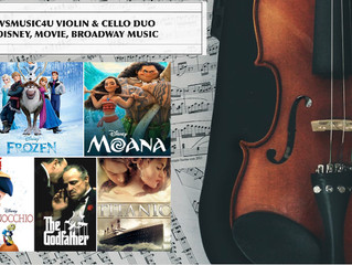 Are you planning Disney Themed wedding and event or you just love movie and Broadway music? Call or