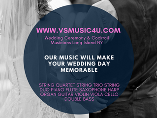 Interview With VSmusic4u Wedding Ceremony and Cocktail Musicians Long Island NY 'VSmusic4u - Say