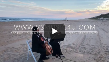 THE BEST SONGS TO WALKING DOWN THE AISLE - WEDDING STRING DUO MUSICIANS VSMUSIC4U