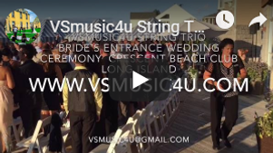 VSmusic4u string trio wedding ceremony m