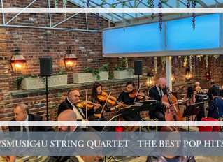 HIRE THE BEST POP MODERN STRING QUARTET IN LONG ISLAND NEW YORK - THIS WEEK VSMUSIC4U STRING QUARTET