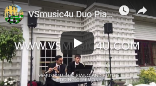 VSMUSIC4U WEDDING CEREMONY MUSICIANS COC