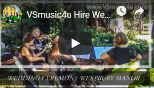 WEDDING STRING QUARTET VSMUSIC4U WESTBUR
