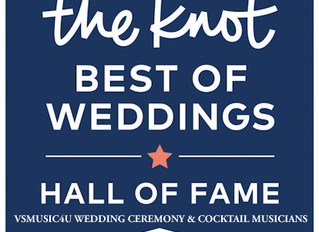 VSMUSIC4U NAMED TO THE KNOT BEST OF WEDDINGS 2020 AND WE ARE PROUD TO SHARE THAT VSMUSIC4U PROFESSIO