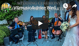 vsmusic4u string quartet weding ceremony