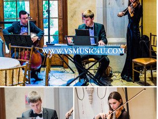 CONGRATULATIONS TO OUR COUPLES -THE LAST THREE WEEKS - VSMUSIC4U STRING QUARTET, STRING TRIO, STRING