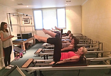 Warrandyte Pilates Reformer Group Class