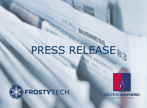 Frosty Tech™ and Pelton Shepherd Industries Sign Deal