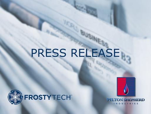 Frosty Tech™ and Pelton Shepherd Industries Sign Deal