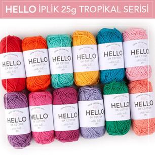 HELLO İplik 25g Tropikal Serisi