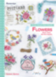 tuva publishing flowers, tuva publishing mini motifs, mini motifs flowers, cross stitch mini motifs, mini motifs, cross stitch, susan bates book