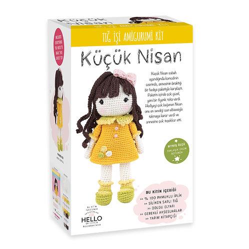 SCF07 Küçük Nisan Amigurumi Kiti