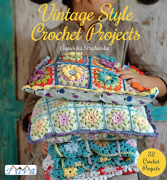 tuva publishing vintage crochet, vintage style crochet, vintage home, vintage motifs, agnieszka strycharska, crochet projects
