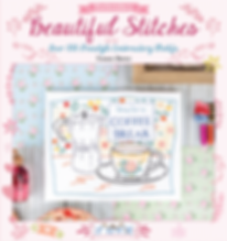 tuva publishing beautiful stitches, tuva embroidery, embroidery book, susan bates embroidey book
