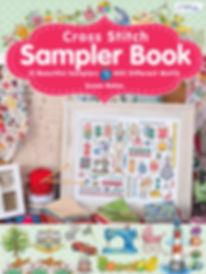 tuva publishing sampler book, sampler book, cross stitch samplers, cross stitch, cross stitch sampler book, susan bates sampler book, susan bates