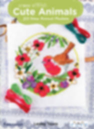 tuva publishing animals, cross stitch cute animals, birds, needlecraft, thread, lesley teare