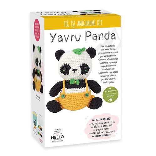 SCF05 Yavru Panda Amigurumi Kiti