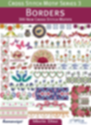 tuva publishing borders, cross stitch motif series 3 borders, 300 new cross stitch motifs, maria diaz book