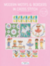 tuva publishing borders, easy cross stitch series 4 borders, cross stitch, maria diaz book