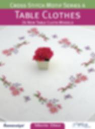 Tuva Publishing cross stitch motif series 4 tble clothes Cross Stitch Motifs, maria diaz book