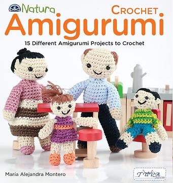 tuva publishing crochet amigurumi, amigurumis, crocheting, dmc natura book, crochet book, lalala toys book, mariale, maria alejandro montero, toys