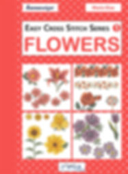 tuva publishing flowers, easy cross stitch series 1 flowers, cross stitch, maria diaz book