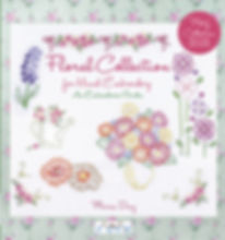 tuva publishing floral collection, floral collection for hand embroidery, embroidery book, maria diaz embroidery