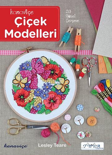 Kanaviçe Çiçek Modelleri