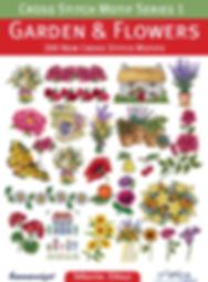 Tuva Publishing garden flowers, cross stitch motif series 1 Garden And Flowers, Cross Stitch Motifs, maria diaz book