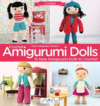 tuva publishing crochet amigurumi dolls, amigurumis, crocheting, dmc natura book, crochet book, lalala toys book, mariale, maria alejandro montero, toys, dolls