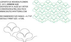 Nouveau-Flowers (Jugendstil)