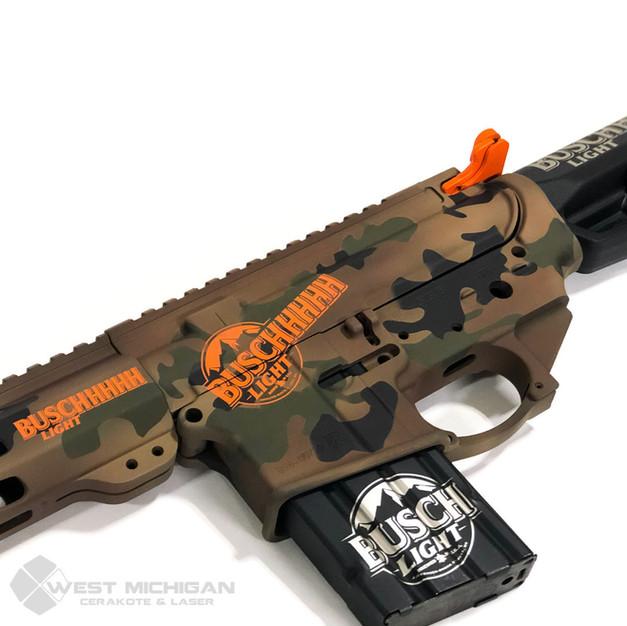 Busch Light Gun - Hunter Orange, sniper