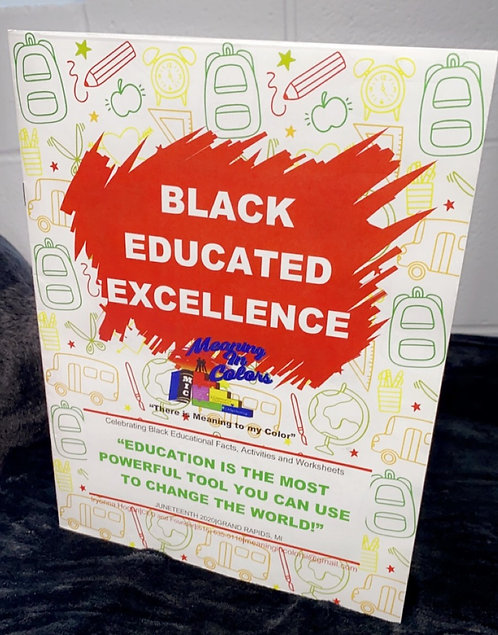 Black Educated Excellence Workbook