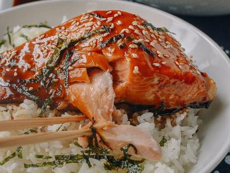 Salmon Teriyaki Bowls by Woks Of Life