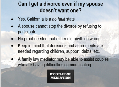 Only One Spouse Wants to Divorce