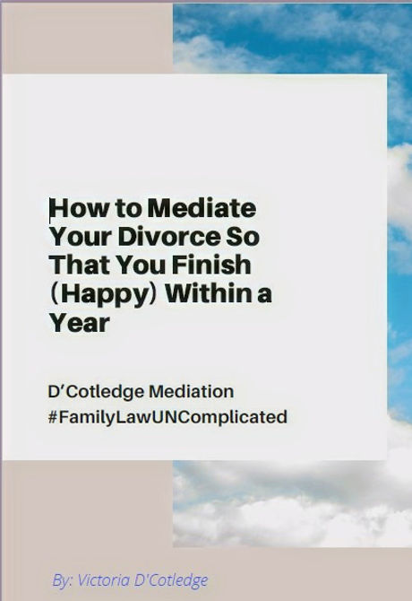 How to Mediate Your Divorce