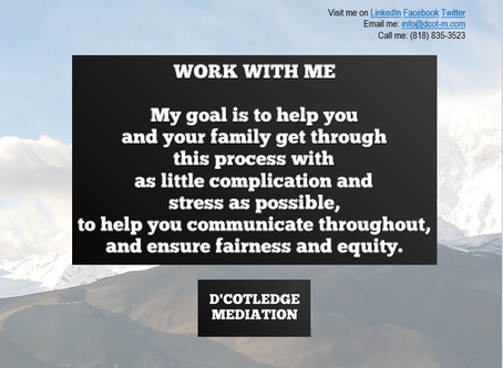 Why Choose D'Cotledge Mediation