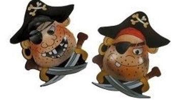 5 Milk Chocolate Pirates