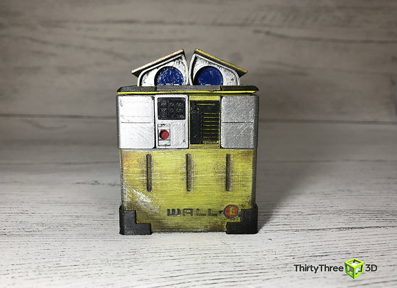 Wall-e Ring / Trinket box, 3d printed, unofficial.