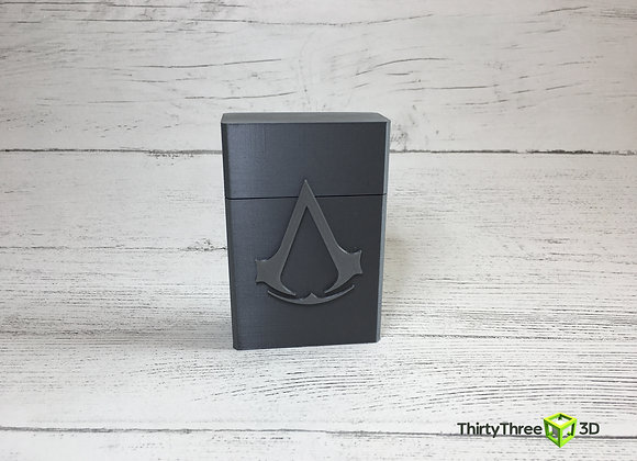 Personalised Logo/name playing card/Cigarette case, 3D printed