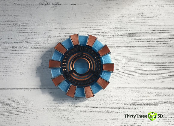 Arc Reactor, 3D Printed, (Unofficial)