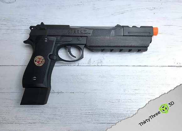 Barry burton's M92, Resident Evil, 3D Printed, (Unofficial)