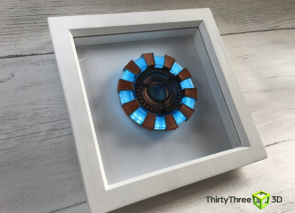 Arc Reactor Picture Frame, 3D Printed, (Unofficial)