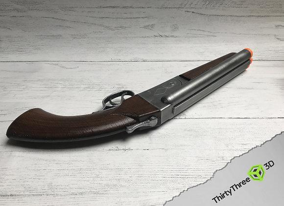 Sawn-Off Shotgun Prop, 3D Printed