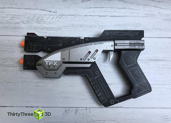 Predator Mass Effect Hand Gun, 3D Printed, (Unofficial)