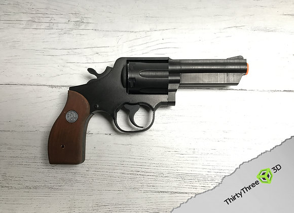 Smith and Wesson M65 revolver, 3D Printed.